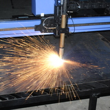 DigiCut CNC Plasma  Pierce